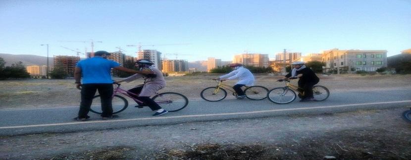 آموزش دوچرخه سواری3