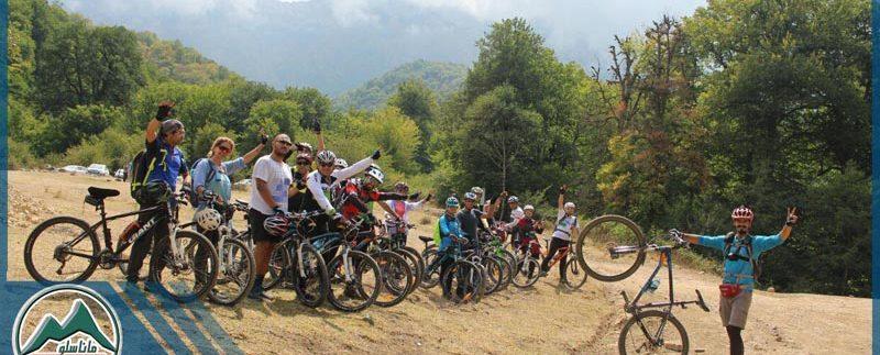 تور دوچرخه سواری جنگل پاجی گروه گردشگری ماناسلو www.manaslo.com
