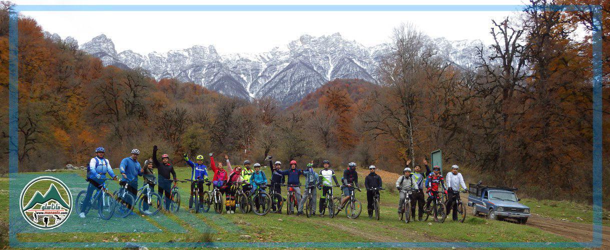 تور دوچرخه سواری جنگل پاجی
