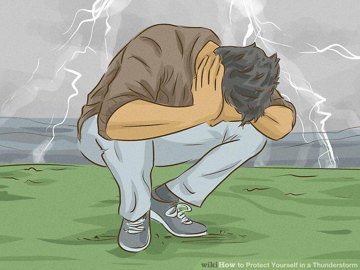روش محافظت در برابر طوفان همراه با صاعقه