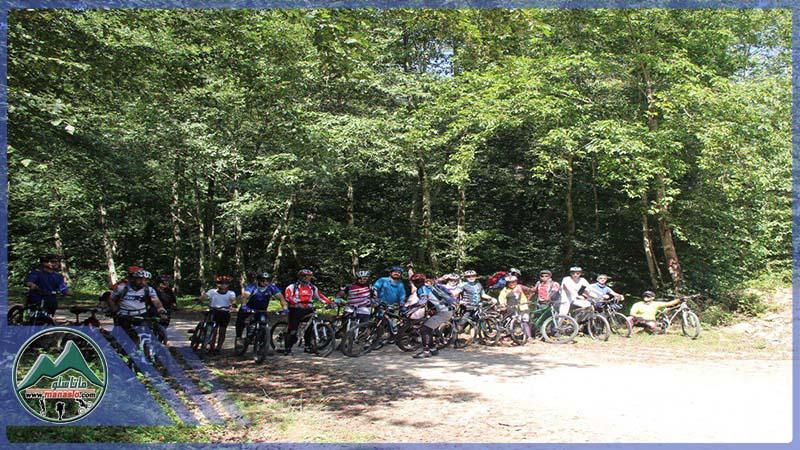 تور دوچرخه سواری جنگل پالند گروه گردشگری ماناسلو (2)