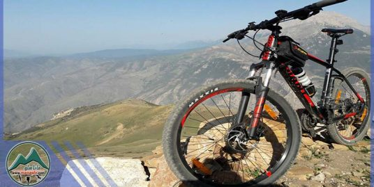 تور دوچرخه سواری قله امام زاده عباس علی و جنگل لاکمر