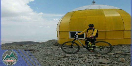 تور دوچرخه سواری قله توچال (رفت با تله کابین)
