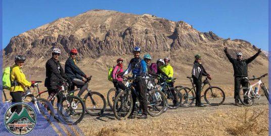 تور دوچرخه سواری غار چال نخجیر
