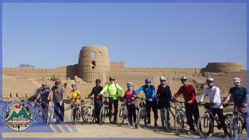 تور دوچرخه سواری قلعه کرشاهی ابوزید آباد