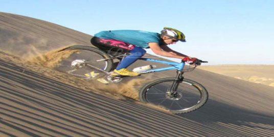 طبیعتگردی با دوچرخه قلعه کرشاهی ( کویر گردی )