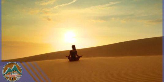 تور تخصصی یوگا در کویر