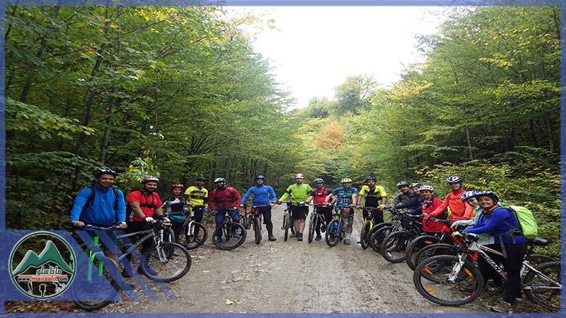 تور دوچرخه سواری جنگل بهمنان