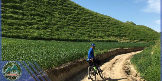 تور دوچرخه سواری ترکمن صحرا و خالد نبی