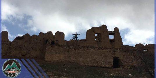 تور دوچرخه سوای قلعه آبعلی خان روستای چمران